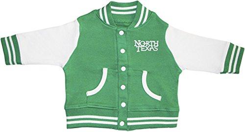 (University of North Texas Scrappy The Eagle Varsity Jacket)