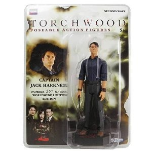 Torchwood Captain Jack Harkness Exclusive Variant Figure