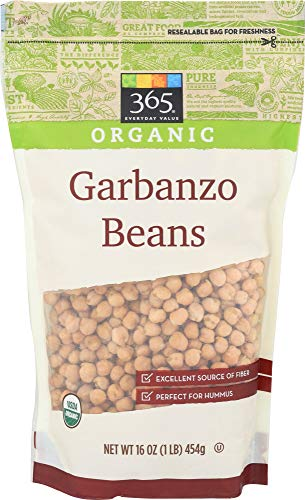 365 Everyday Value, Organic Dried Garbanzo Beans, 16 Ounce