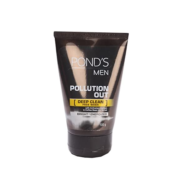 Pond's Men Pollution Out Face Wash, 100g 2021 July