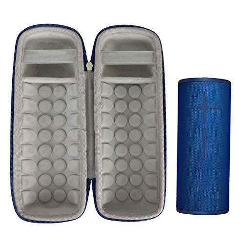 Khanka Hard Travel Case for Ultimate Ears UE Boom 3 Portable Bluetooth Wireless Speaker (Blue)