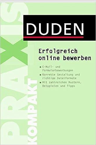 Erfolgreich Online Bewerben Duden Ratgeber Janne Jörg Kipp