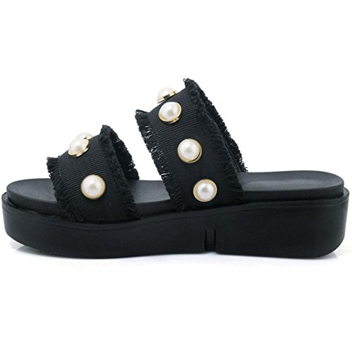 Mules On Shoes 2 Coolcept Black Women Slip qBxOEtP