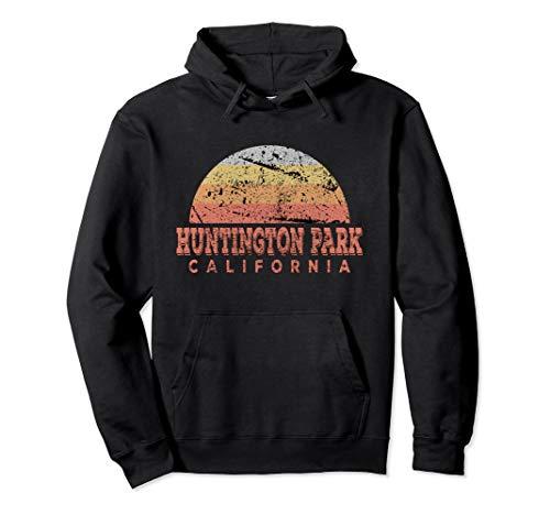 Huntington Park California Retro Vintage Sunset