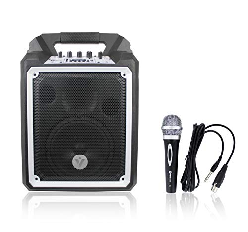 VOYZ 100W Portable Wireless Bluetooth Waterproof Boombox Speaker with Microphone (VZ-AB6)