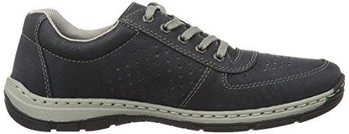 Rieker Men Lace-Up Shoes blue, (ozean) 15225-14 Ocean