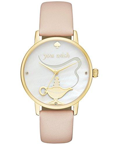 Kate Spade New York Women's Metro Vachetta Leather Strap Watch 34mm KSW1258