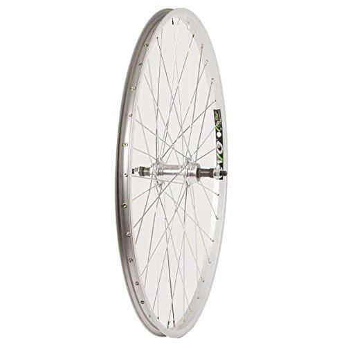 Wheel Shop EVO E-Tour 20 Silver/ Stainless Wheel Rear 26'' 36 spokes FM-31 Bolt-on Freewheel ()