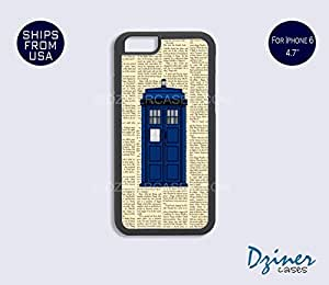 iPhone 6 Case - 4.7 inch model - Newspaper Tardis Doctor Who iPhone Cover