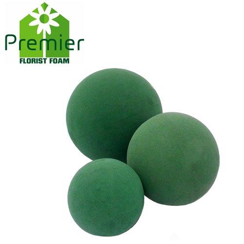 Premier, sfera di schiuma bagnata per fioraio, 9 cm (confezione da 10)