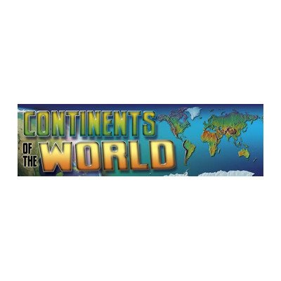 Bbs Continents Of The World Gr 4-8