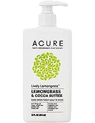 Lively Lemongrass Body Lotion Acure Organics 12 fl oz Liquid