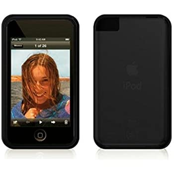 Speck SeeThru Hard Shell Case and Holster for iPod touch 1G (Black)