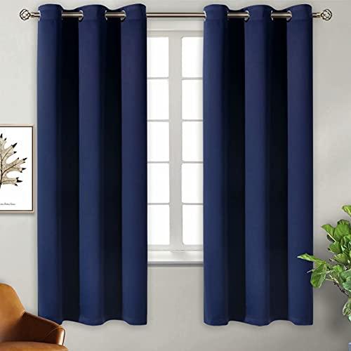 BGment Grommet Blackout Curtains 2 Panels