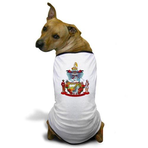 CafePress Nepal Coat of Arms Dog T-Shirt - S White [Misc.]