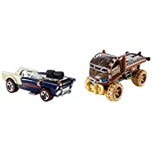 Hot Wheels Star Wars Chewbacca and Han Solo Character Car 2-Pack
