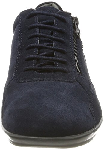 Symbol Blue a Men Navy Navy Geox Oxfords Uomo C4002 POqRz