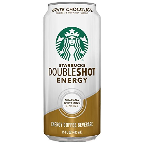 Starbucks Doubleshot Dash Drink, White Chocolate, 15 Ounce Cans, 12 Count