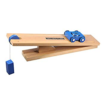 Simple Wooden Machine: Inclined Plane and Cart Model