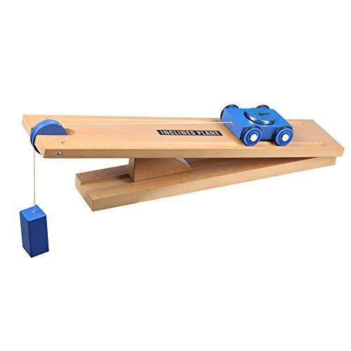 Simple Wooden Machine: Inclined Plane and Cart Model (Guide Simple Teachers Machines)