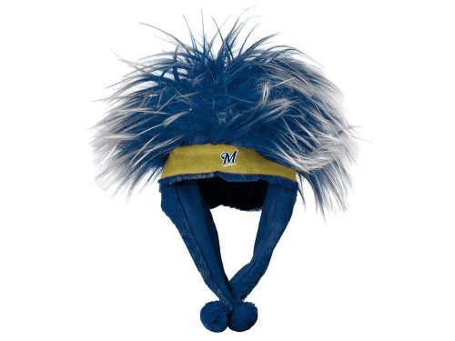 MLB Milwaukee Brewers Troll Dangle Hat
