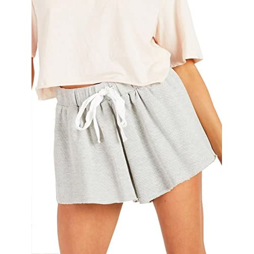 Famulily Women\'s Elastic Waist Summer Causal Beach Shorts With Drawstring supplier A21izYfJ