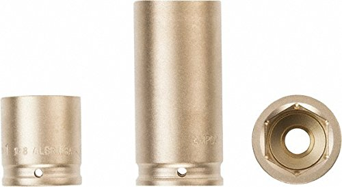 "3/4"" Drive 18mm Standard Nonsparking Impact Socket, 6 Points -  Ampco"