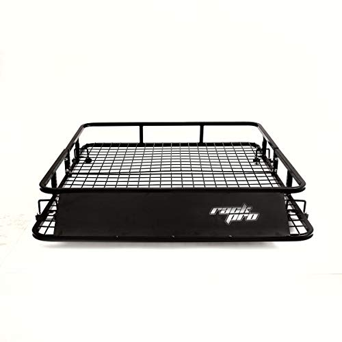 (Toolsempire Universal Roof Rack Cargo Carrier SUV Car Top Luggage Holder Basket 48