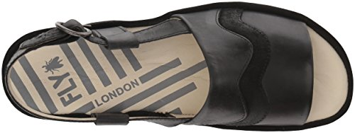 Fly London Bema851fly Nero Tappeto In Pelle Scamosciata