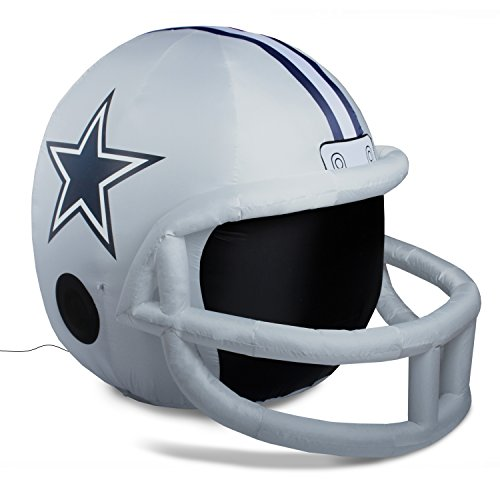 Fabrique Innovations NFL Dallas Cowboys Teamiatable Lawn Helmet, One Size, -