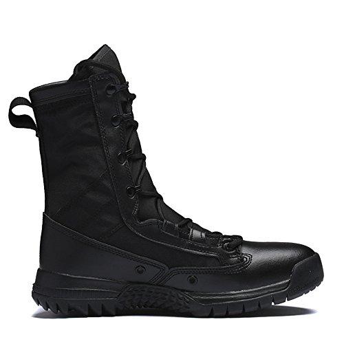Protezione Da Militare Combattimento La Speciali Tactical Di Sicurezza MERRYHE Black Stivali Polizia Delle Avvio Della Facendo Men Forze Shoes Army Un'escursione Accampa Boots pvItw