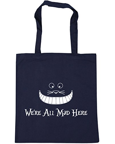 x38cm Beach mad all French Tote litres we're 42cm Shopping here 10 Bag Navy HippoWarehouse Gym qBaSx