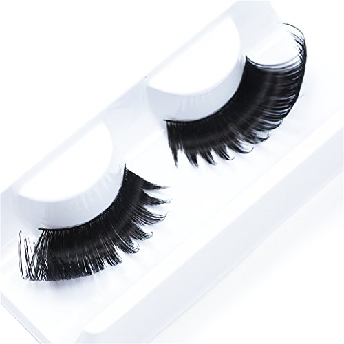 IMSTYLE False Eyelashes Fluffy Long Thick Drag Queen Falsies Eye Lashes Extensions for Costume Cosplay Stage Makeup1 Pair(X13)]()