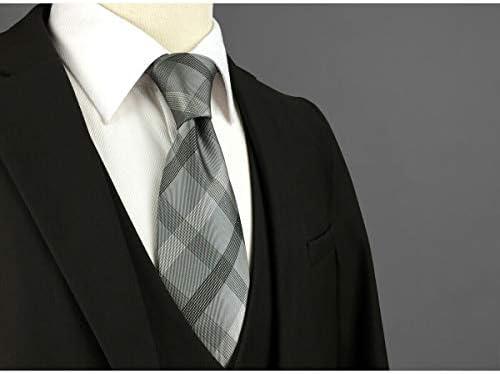 Shlax&Wing Clásico Traje De Negocios Hombre Seda Corbatas Para ...
