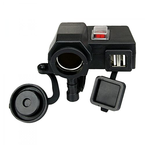 esky-waterproof-5v-21a-dual-usb-output-motorcycle-handlebar-clamp-power-adapter-charger