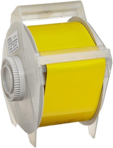Brady 76689 GlobalMark 25' Length x 2.25'' Width B-509 Magnetic Supply, Yellow Tape by Brady