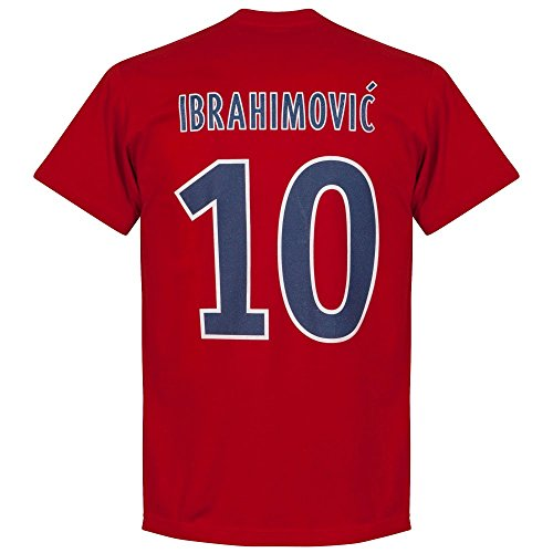 Paris Ibrahimovic T-Shirt - rot
