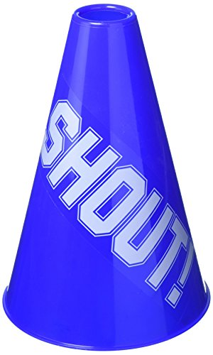 amscan Blue Megaphone, Party Accessory, 6 Ct. -