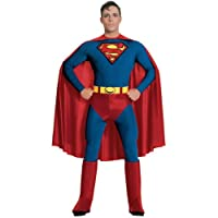 RUBIE'S COSTUME COMPANY Disfraz de hombre adulto de Superman Halloween - X-Large | 888001