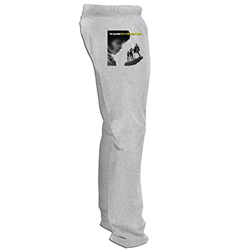 DETED Sly And The Family Stone Essential Training Pants For Mens Ash XXX-Large -