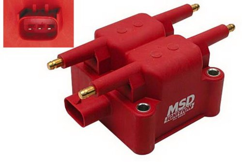 MSD 8239 Mitsubishi 4-Tower Ignition Coils (Dodge Coil Neon)