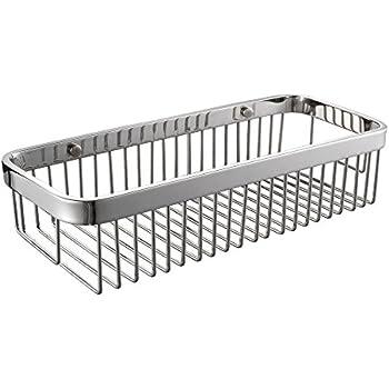 Amazon Com Rectangular Shower Caddy Stainless Steel