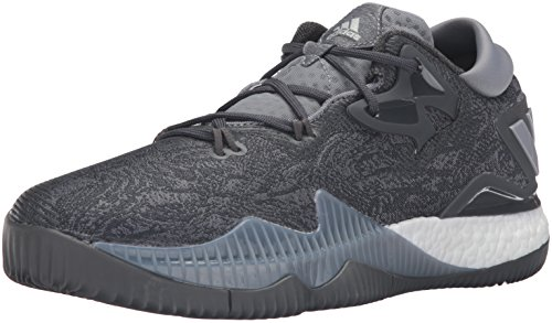 adidas Performance Herren Crazylight Boost Low 2016 Basketballschuh Grau / Silber Met./Dgh Solid Grey
