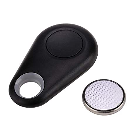 Qiopes Nouvelle Puce Bluetooth Tracer GPS Locator Tag Alarme Wallet Key Pet Dog Tracker T/él/écommandes