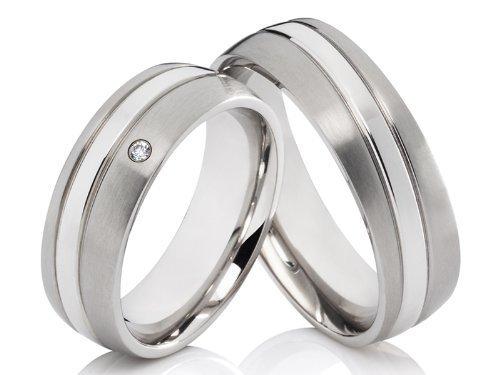 2 alianzas De Los Anillos Póster con anillos de alianzas y corazones de compromiso anillos de