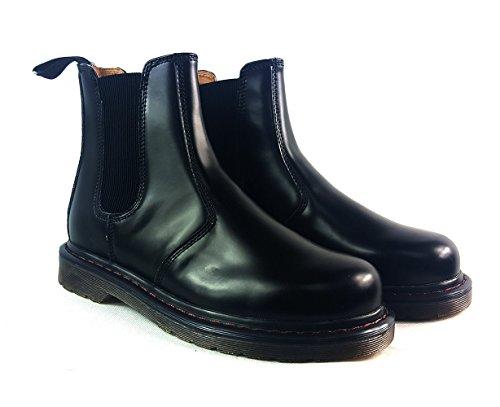 UK6 Mens EUR zapatos Suede Chelsea Casual italiano negro 40 tobillo concesionario Negro desierto botas estilo de Smart w6wfrqO