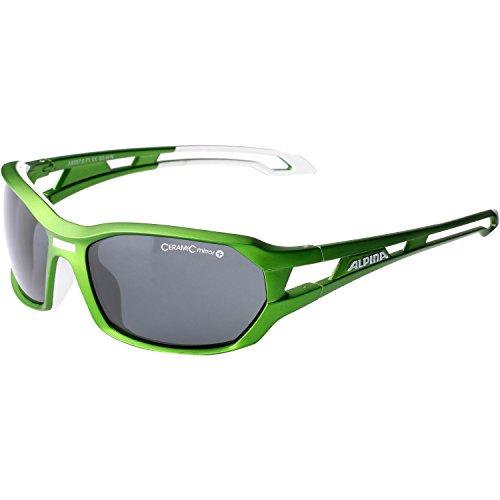 Alpina Lunettes de sport Vert/blanc