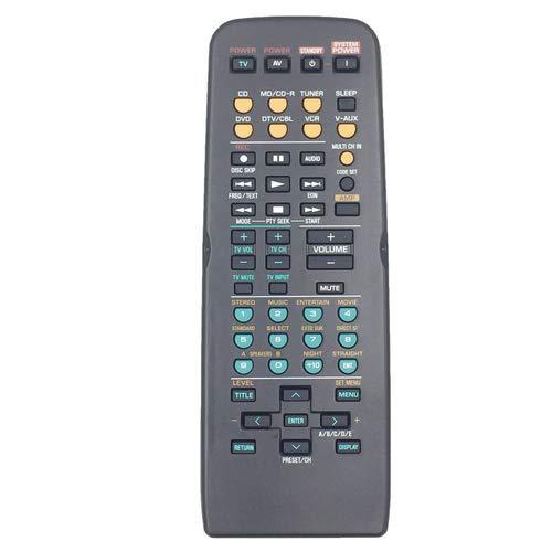 ヤマハホームシアターアンプ用RAV305 RAV307 ユニバーサル交換用リモコン 1pc 1pc  B07H5BSC5C