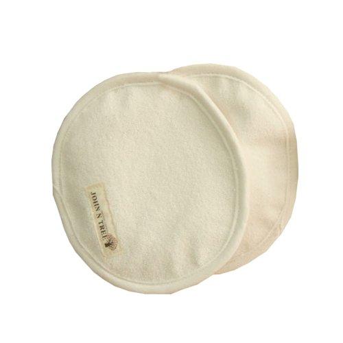 100% Organic Cotton Nursing Pads, Natural