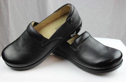 Alegria Women's Keli Professional Slip Resistant Work Shoe,Black Nappa,39 BR/9-9.5 M US